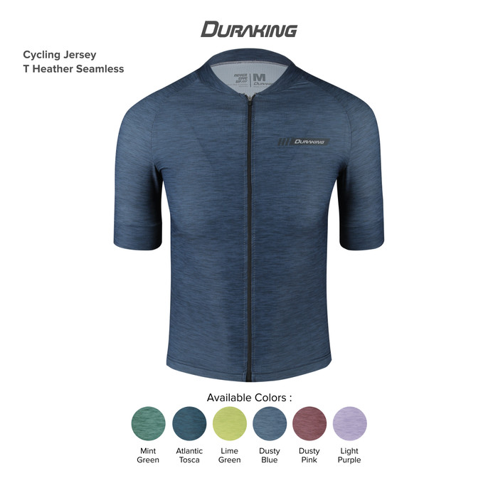 Duraking Jersey Sepeda T-Heather Seamless Part 1
