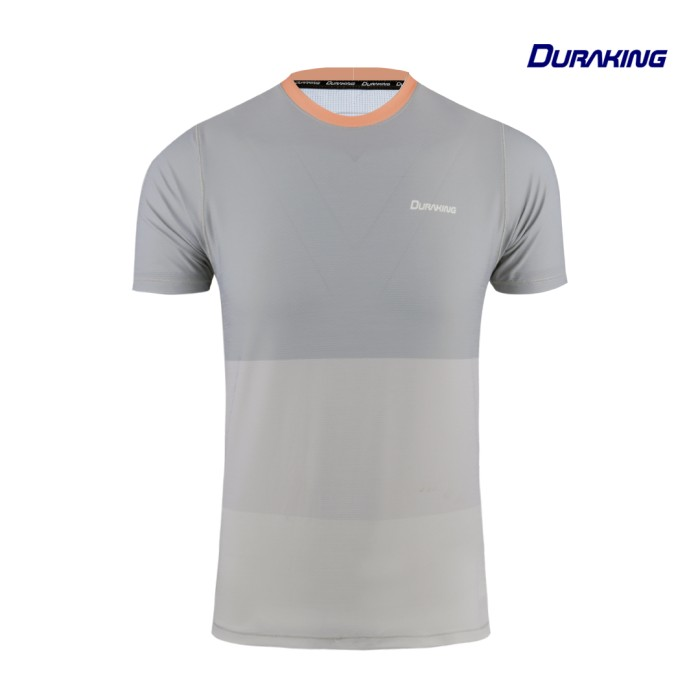 DK Daily Active Wear Tri Colors Shirt Grey