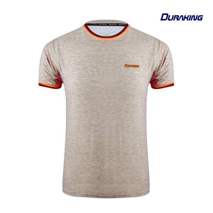 DK Daily Active Wear Stripes Shirt Light Brown