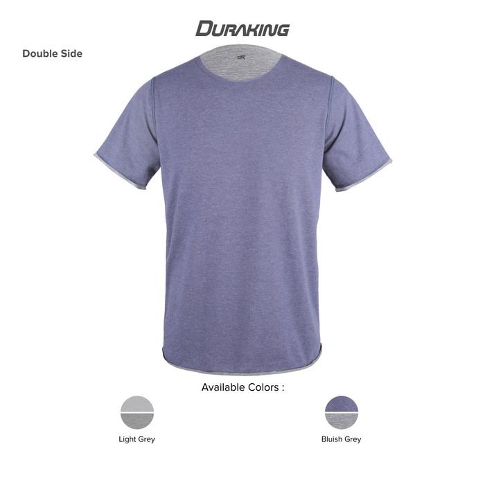 DK Daily Wear T-Shirt Double Side Bluish Grey